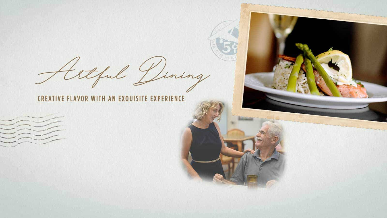 Artful Dining: Creative Flavor with an Exquisite Experience